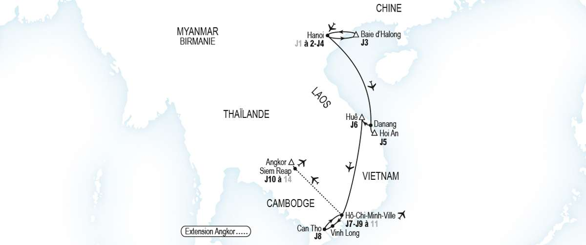 Club Med Circuit Vietnam Laos Cambodge