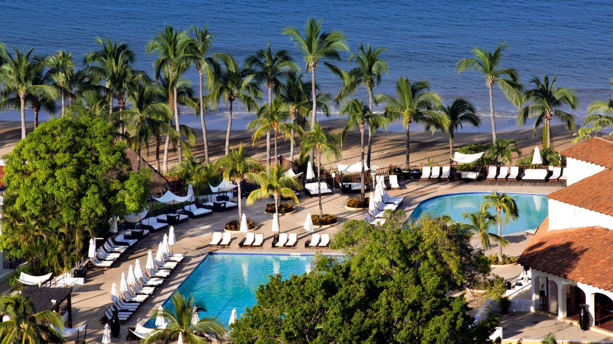 A beautiful hacienda style family resort nestled between the sierra madre mountains the pacific ocean