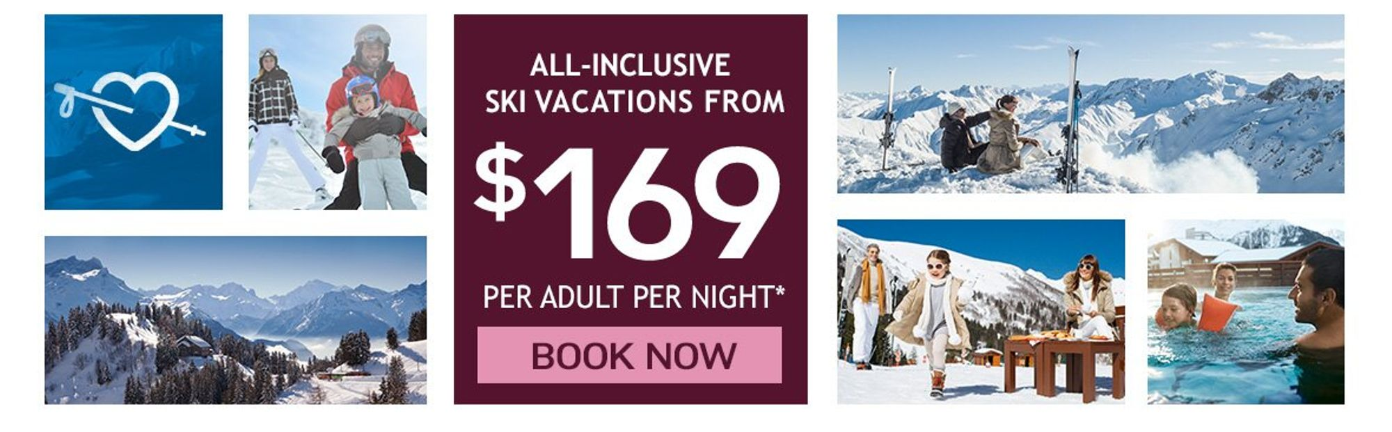 all inclusive ski promotion