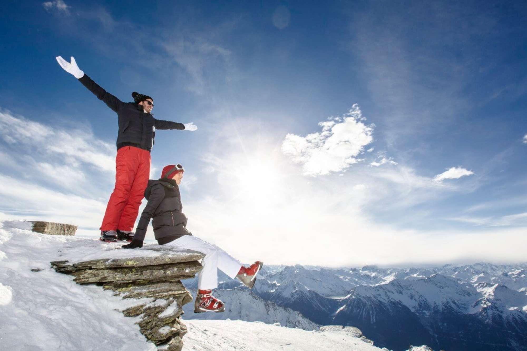 Vacaciones de navidad y año nuevo  en Los Alpes