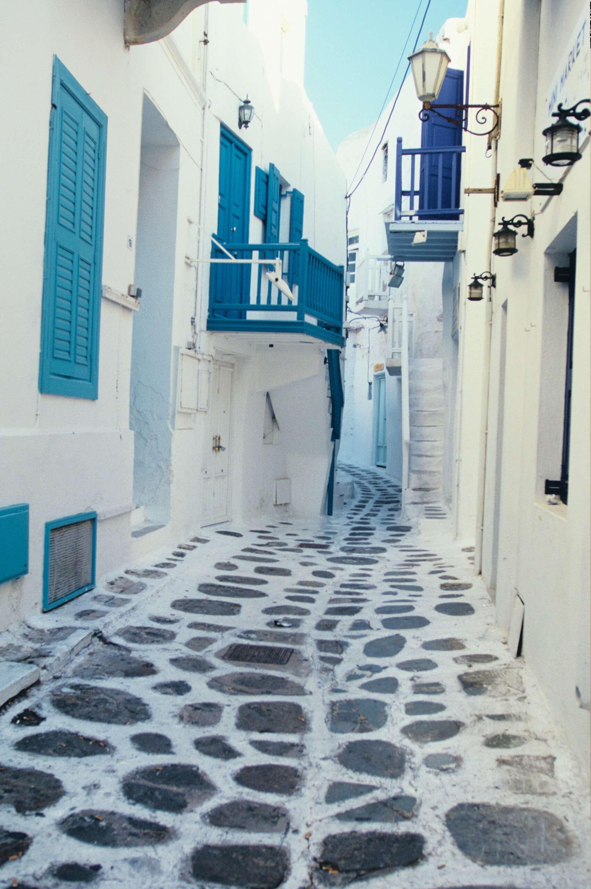 Le bleu des Cyclades