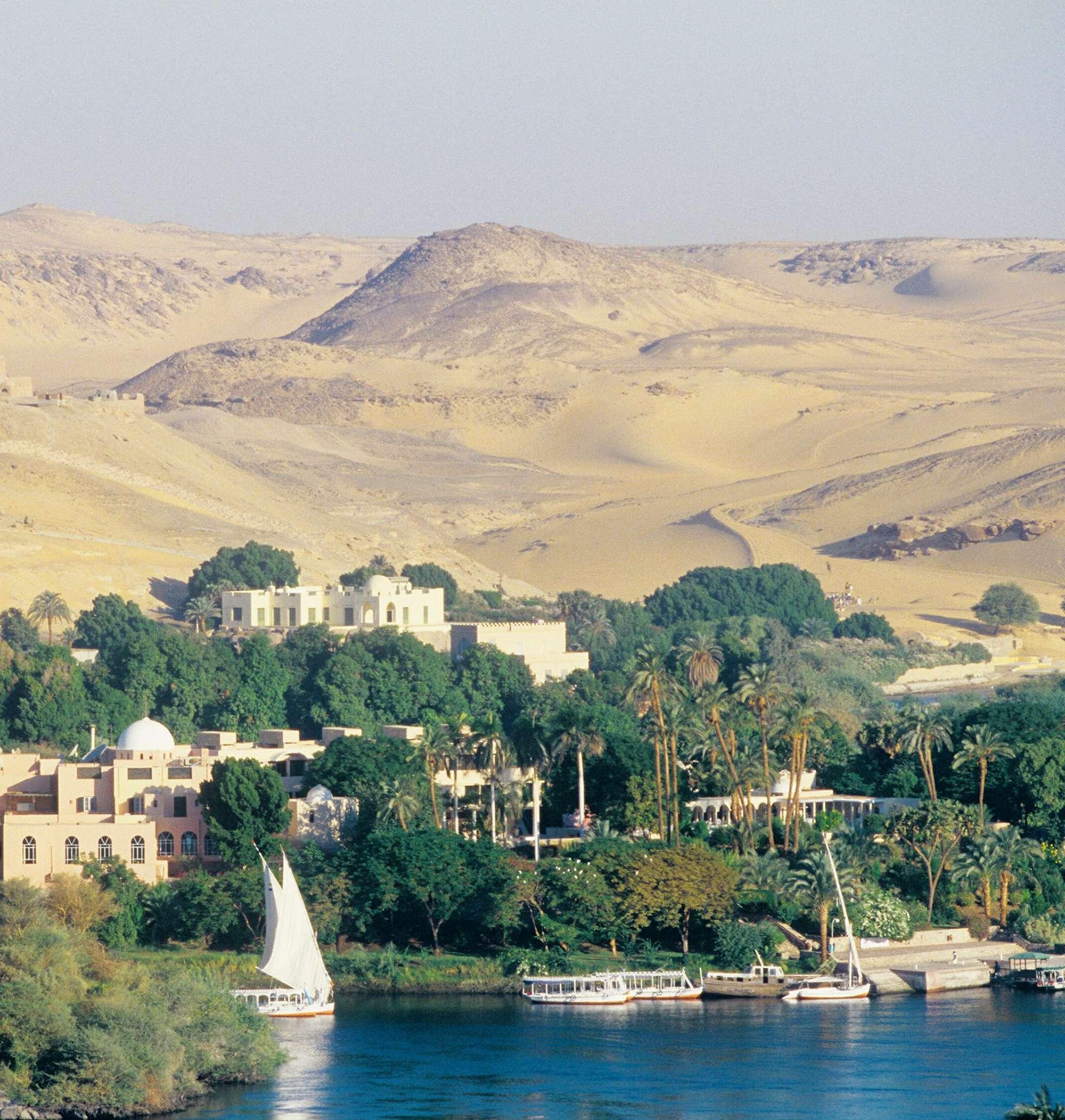 Le Nil en dahabieh