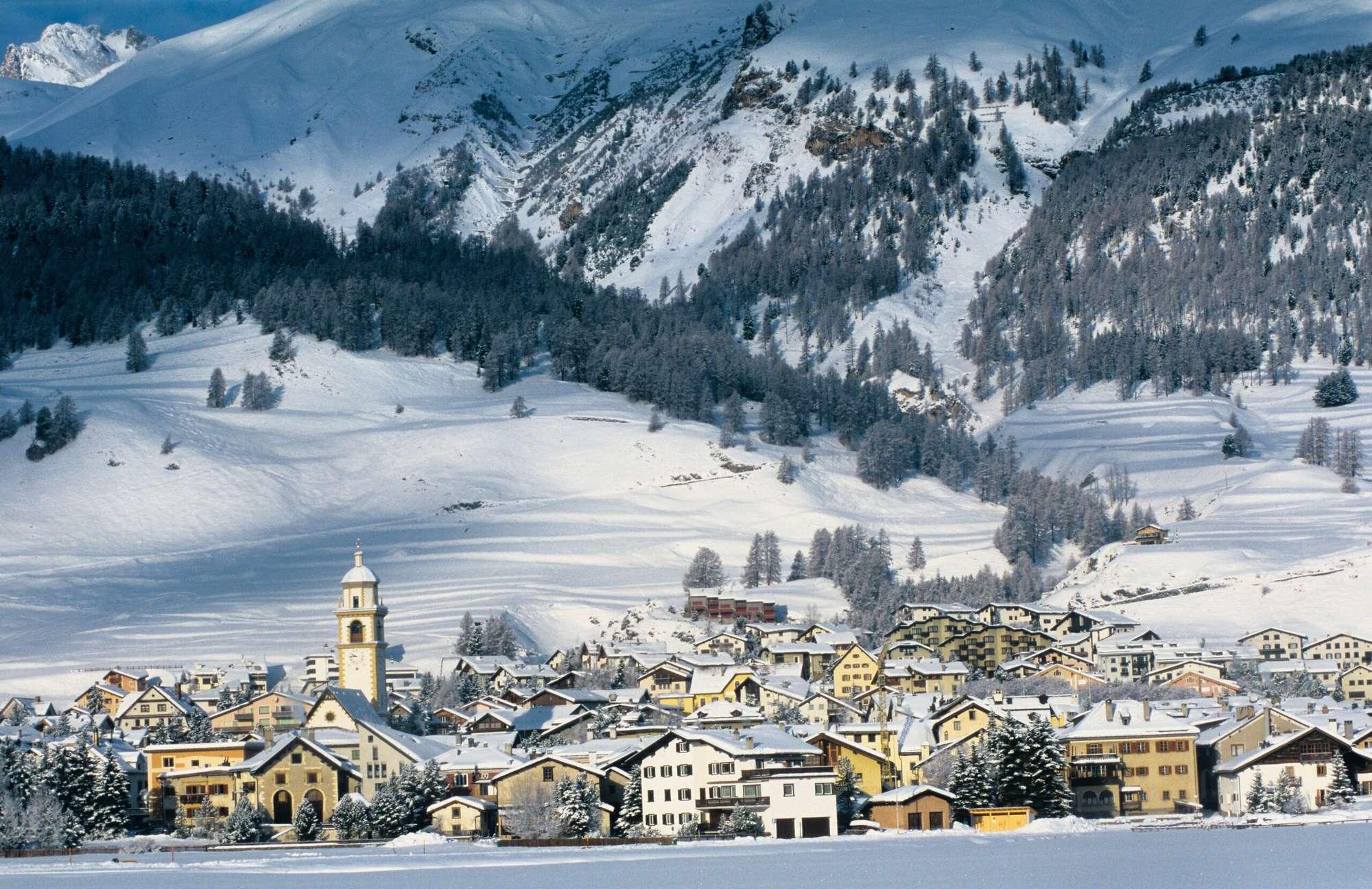 Швейцарские Альпы – это идеальное место для семейного отдыха