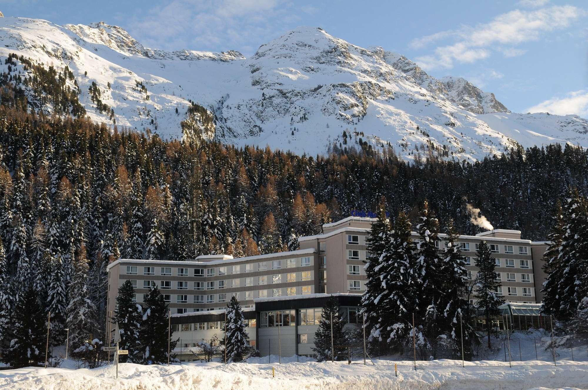 Очарование швейцарских Альп в регионе Domain des Grisons