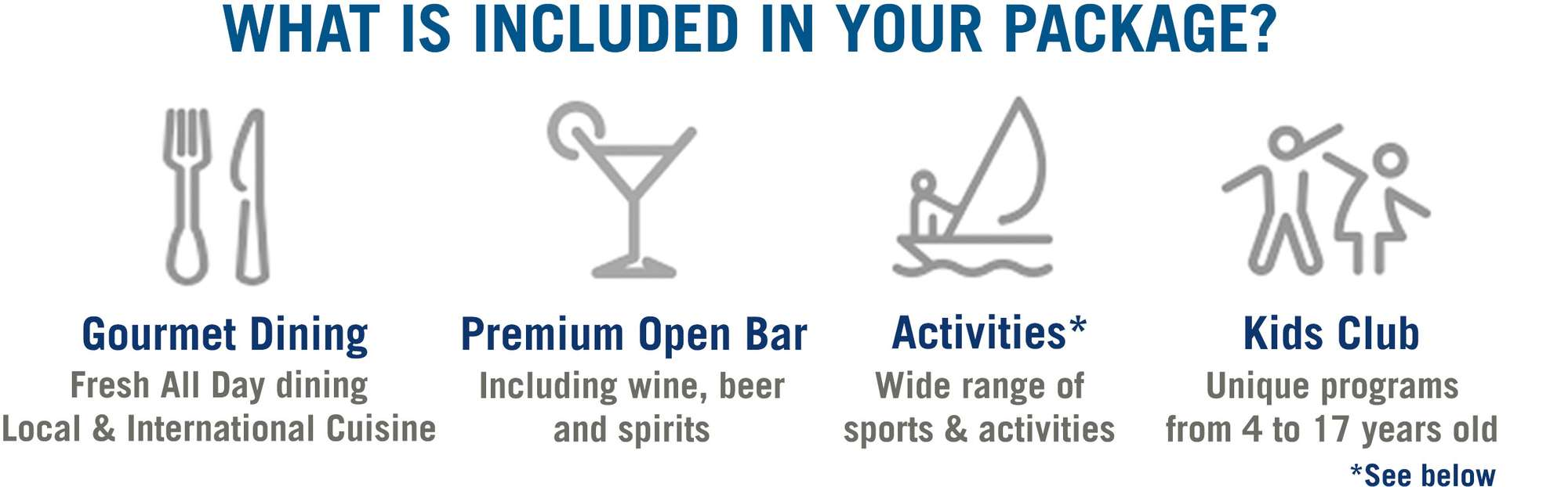 THERE ARE SO MANY BENEFITS OF BOOKING A CLUB MED HOLIDAY
