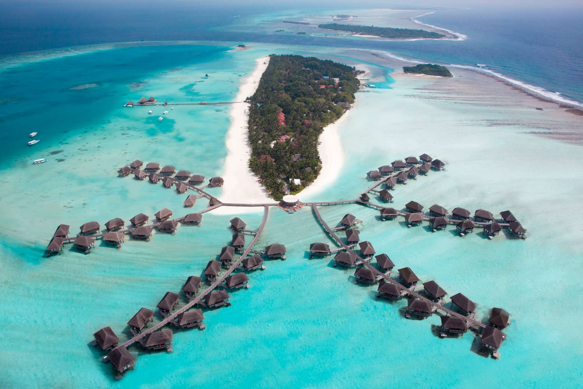 Райский сад на Мальдивах