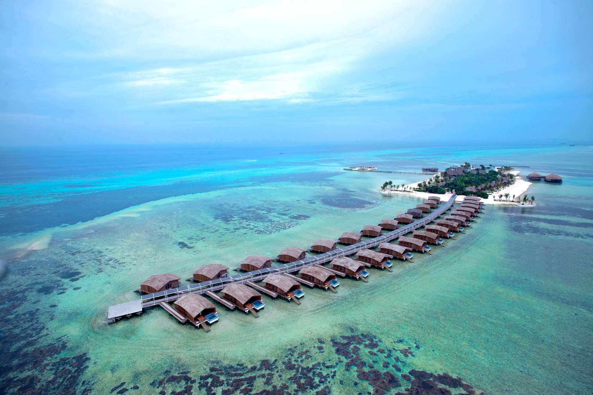 Роскошные эко-виллы на частном атолле на Мальдивах. Удовольствие для тех, кто ценит эксклюзивность и ищет истинное воплощение Рая на Земле...