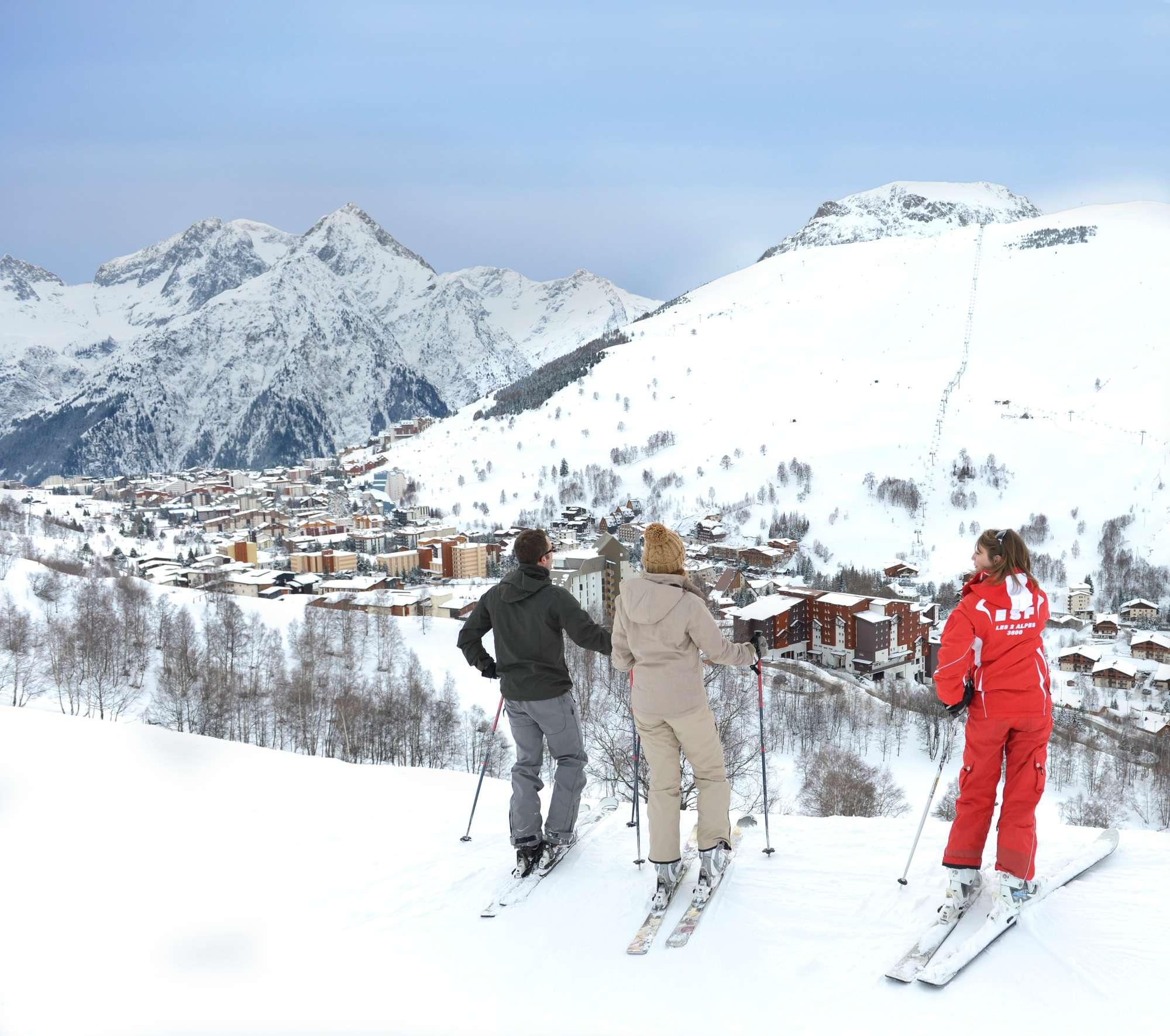 Рай для любителей лыжного спорта.