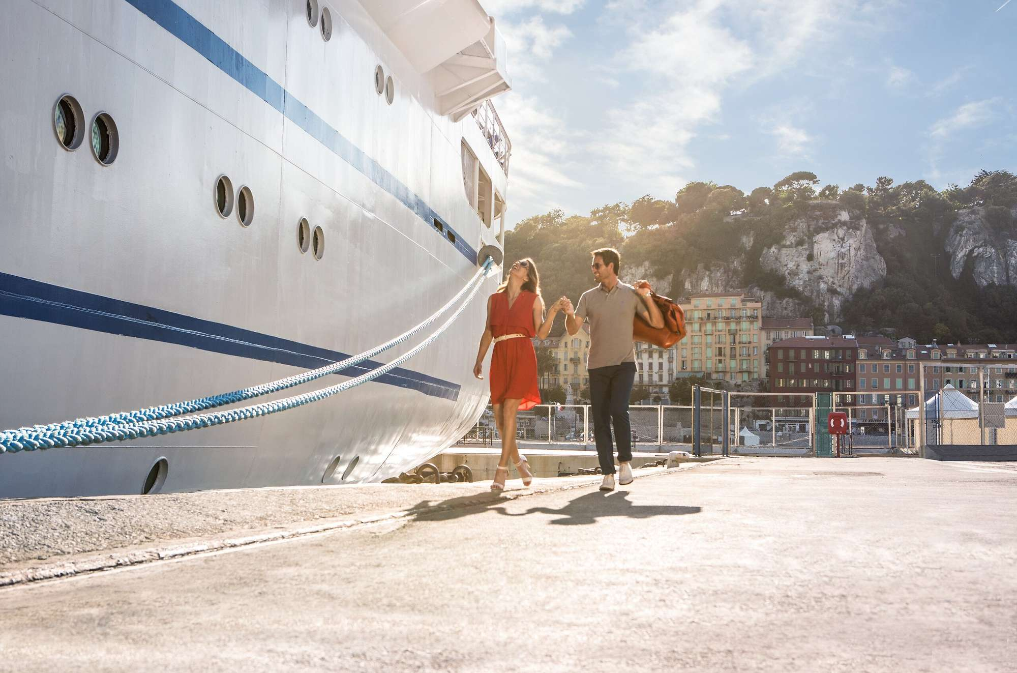 Our Cruises on the Med' in Summer