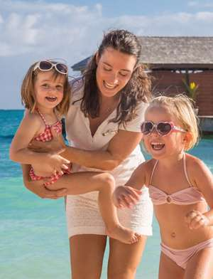 All inclusive childcare at Club Med