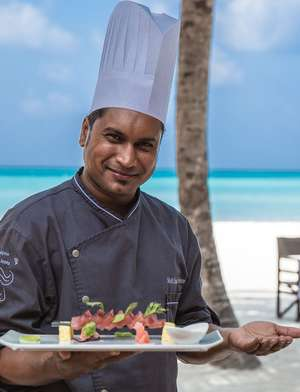 All inclusive food and drinks at Club Med