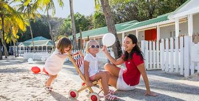 An all-inclusive holiday with kids stay free