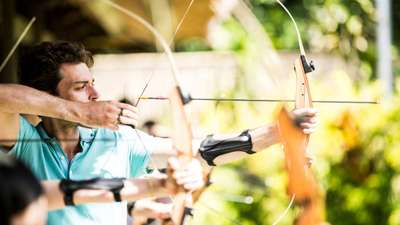 Archery in Club Med