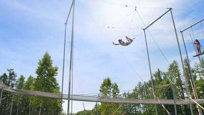 Land sports – Flying trapeze