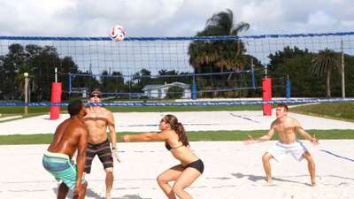 Beach Voleyball at Club Med