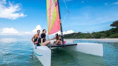 Sailing on holiday at Club Med