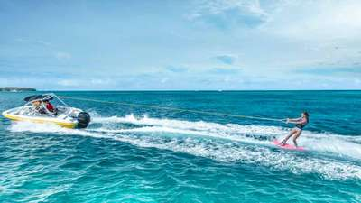 Water-skiing on your Club Med holiday