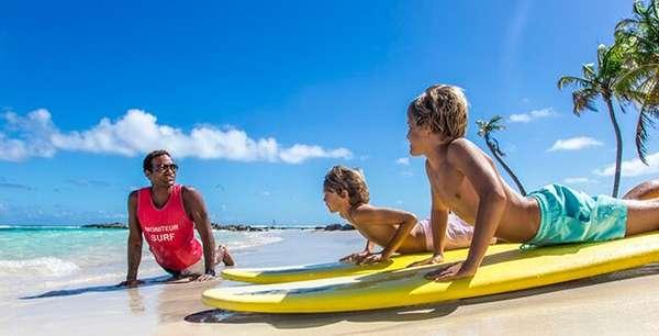 Занятия спортом и развлечения для всей семьи в Club Med