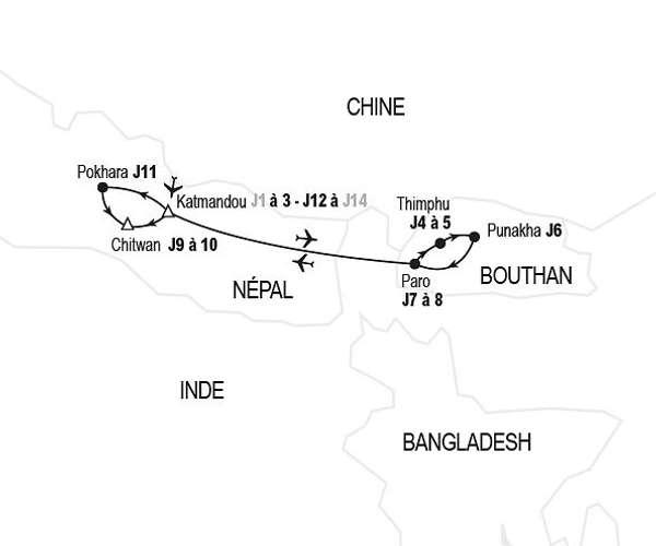 Sanctuaires de l'Himalaya